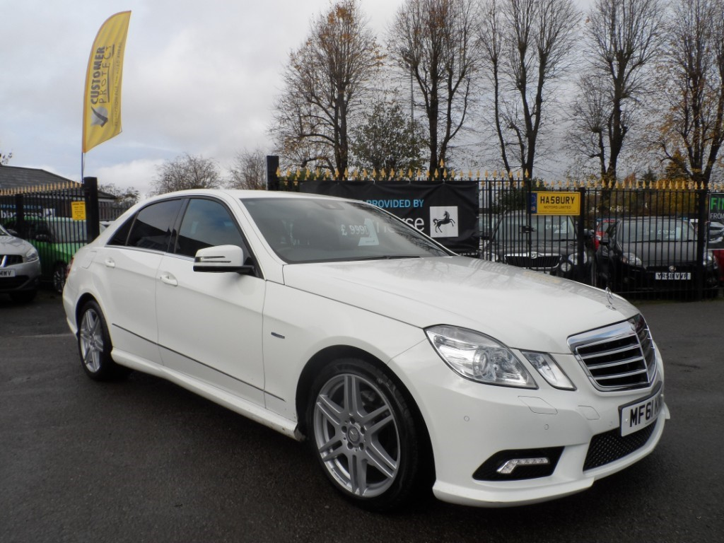 used Mercedes E200 CDI BLUEEFFICIENCY SPORT ED125 in Halesowen