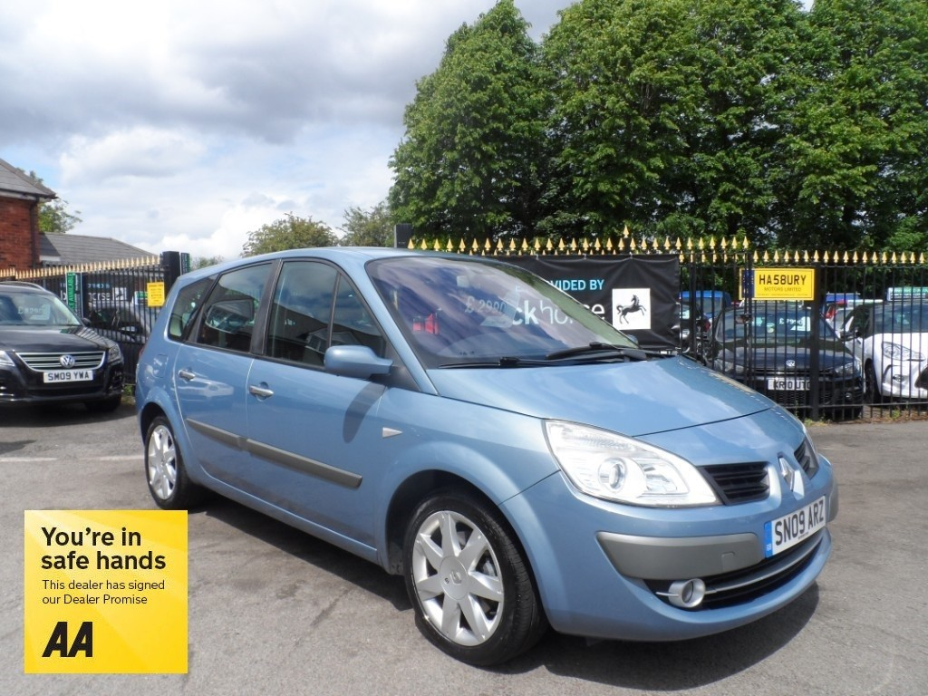 used Renault Grand Scenic DYNAMIQUE FAP DCI 130 G/SCENIC in Halesowen