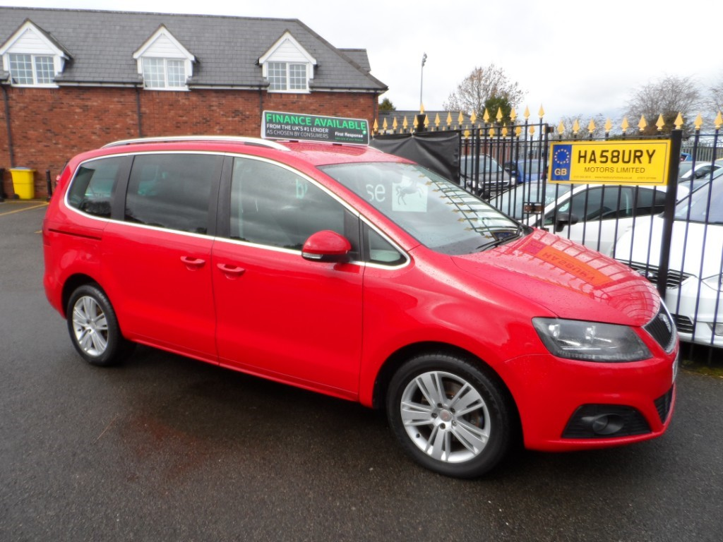 used SEAT Alhambra TDI CR ECOMOTIVE SE in Halesowen