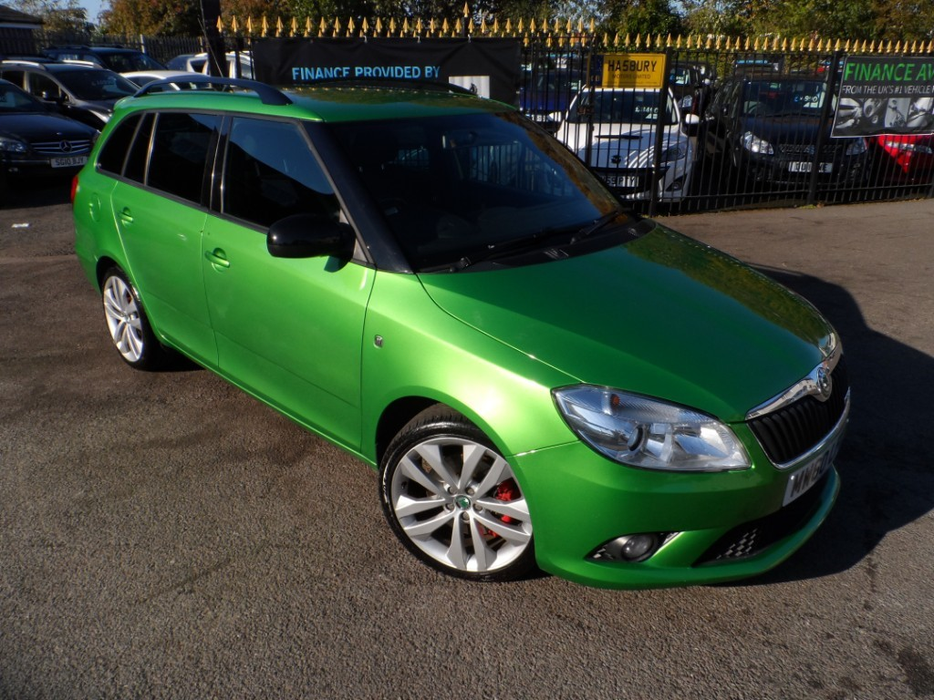 used Skoda Fabia VRS DSG in Halesowen
