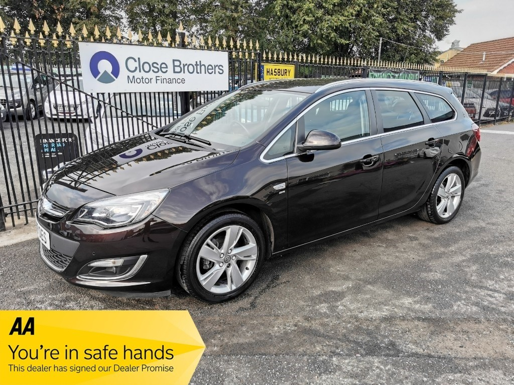 used Vauxhall Astra SRI in Halesowen
