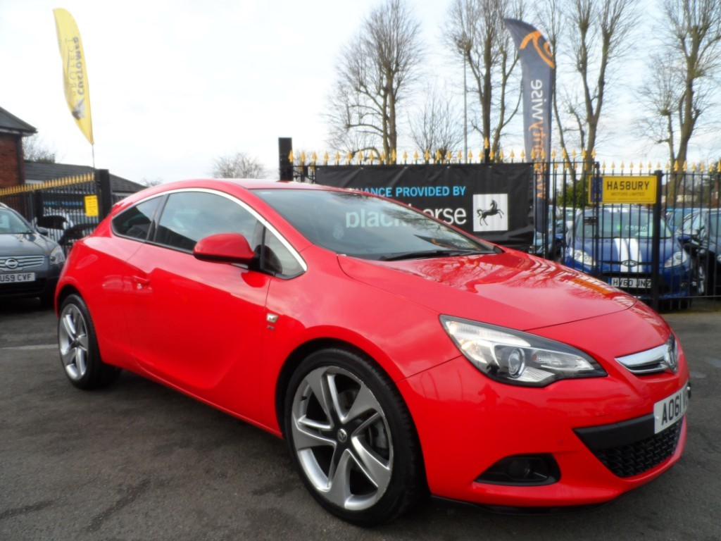 used Vauxhall Astra GTC i Turbo 16v SRi (s/s) 3dr in Halesowen