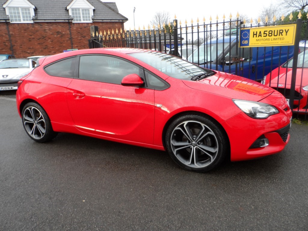 used Vauxhall Astra GTC LIMITED EDITION CDTI S/S in Halesowen