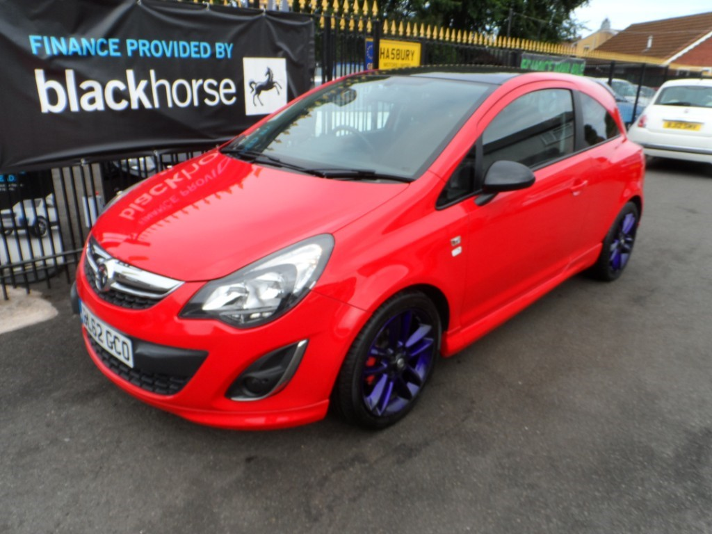 used Vauxhall Corsa LIMITED EDITION in Halesowen