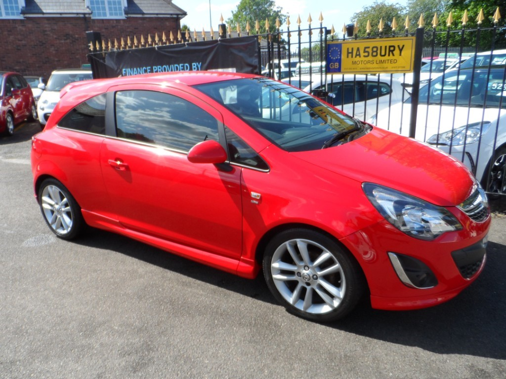 used Vauxhall Corsa SRI in Halesowen