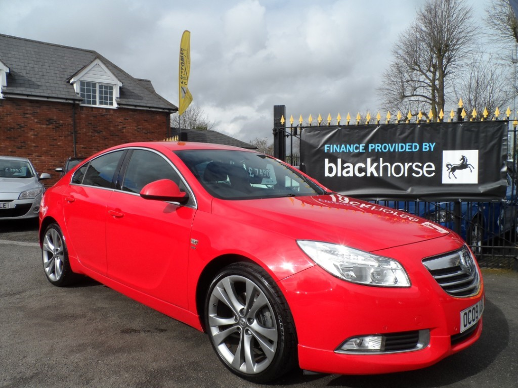 used Vauxhall Insignia SRI VX-LINE RED CDTI in Halesowen