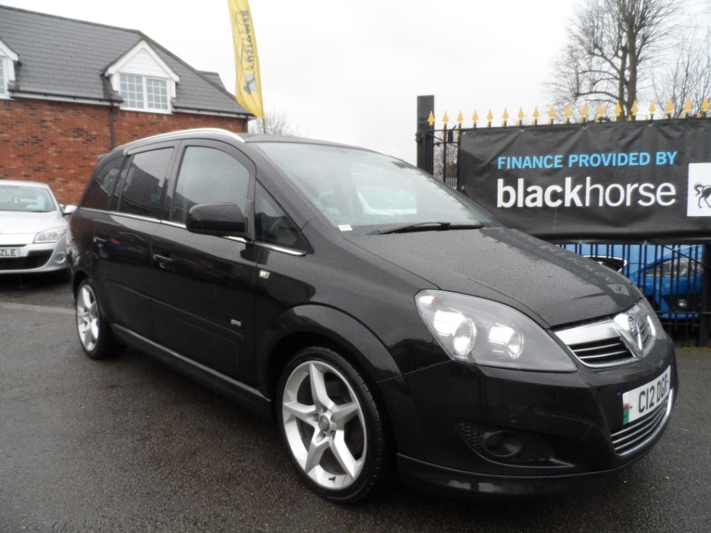 used Vauxhall Zafira SRI XP CDTI in Halesowen