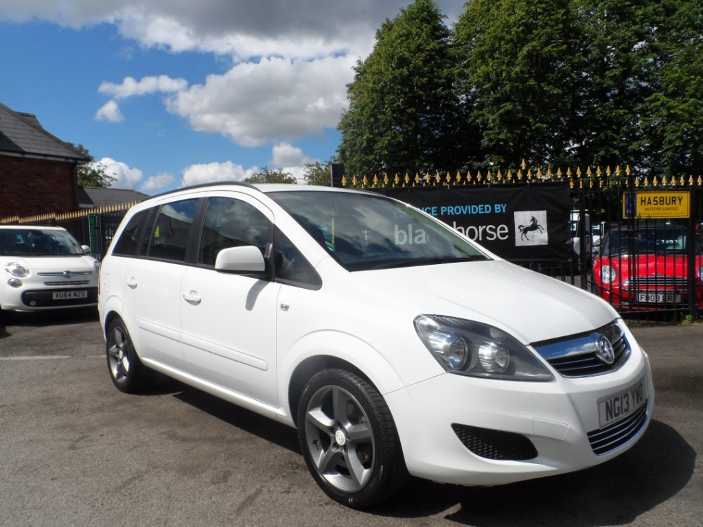 used Vauxhall Zafira EXCLUSIV in Halesowen