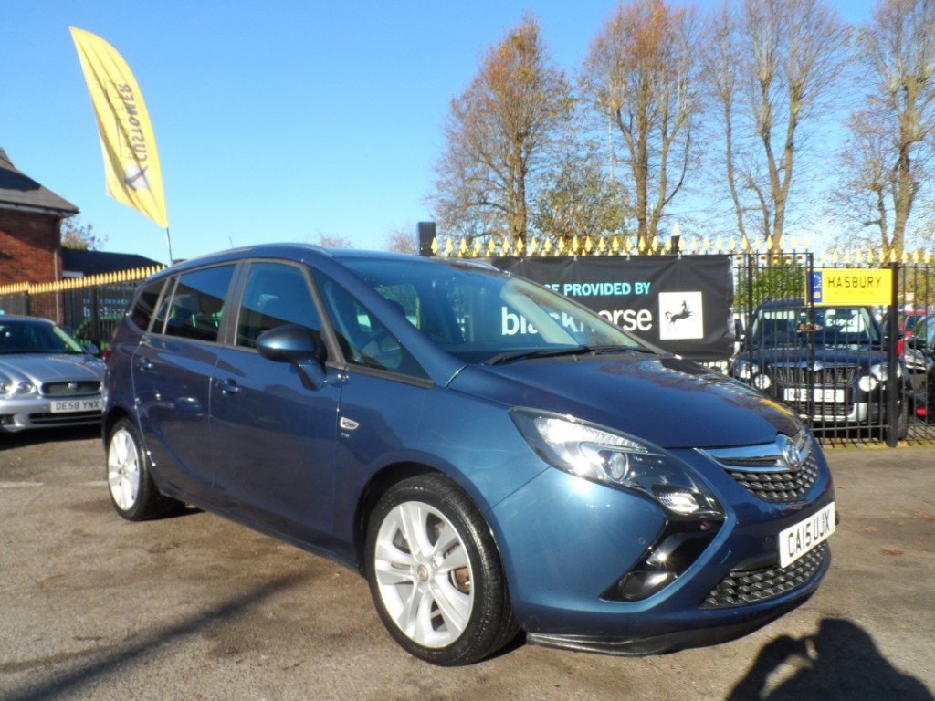 used Vauxhall Zafira Tourer SRI CDTI in Halesowen