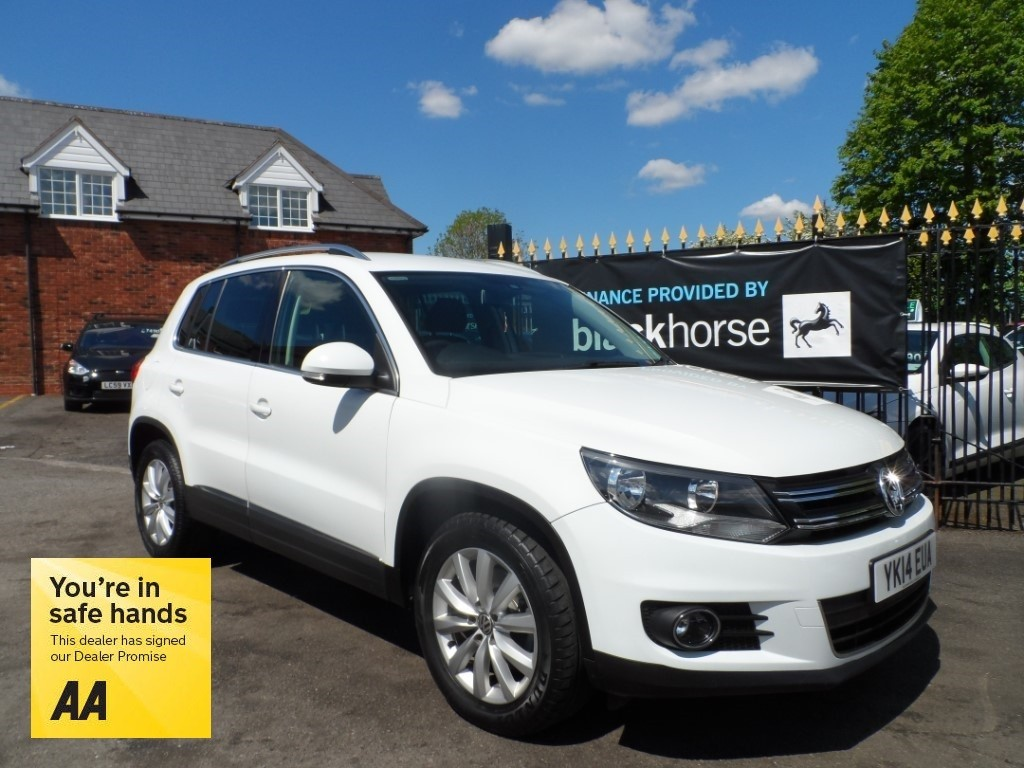 used VW Tiguan MATCH TSI BLUEMOTION TECHNOLOGY in Halesowen