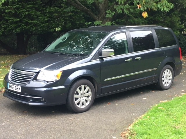 used Chrysler Grand Voyager CRD GRAND LIMITED in greater-manchester