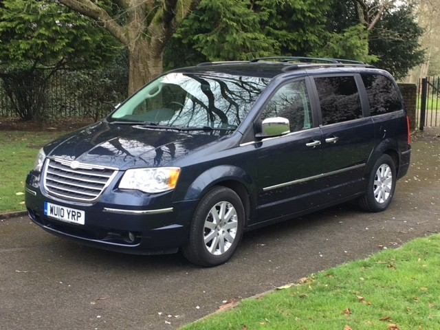 used Chrysler Voyager CRD GRAND LIMITED in greater-manchester