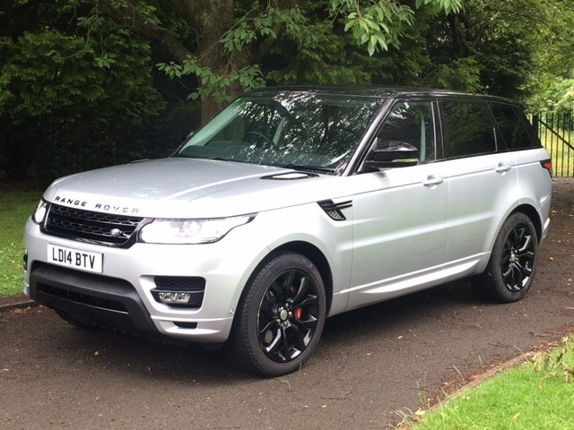 used Land Rover Range Rover Sport V8 AUTOBIOGRAPHY DYNAMIC in greater-manchester