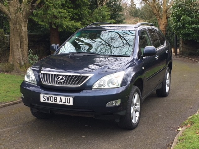 used Lexus RX 350 350 LTD EDITION in greater-manchester