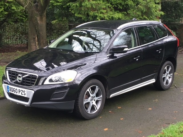 used Volvo XC60 D5 SE LUX NAV AWD in greater-manchester
