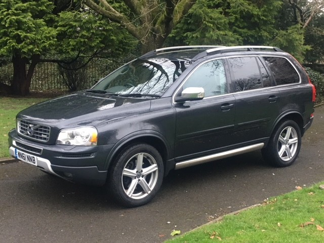 used Volvo XC90 D5 R-DESIGN AWD in greater-manchester