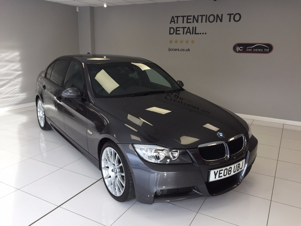 used BMW 318i EDITION M SPORT auto petrol leather M3 styling in louth-lincolnshire
