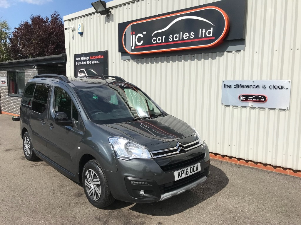 used Citroen Berlingo Multispace BLUEHDI XTR ETG6 in louth-lincolnshire