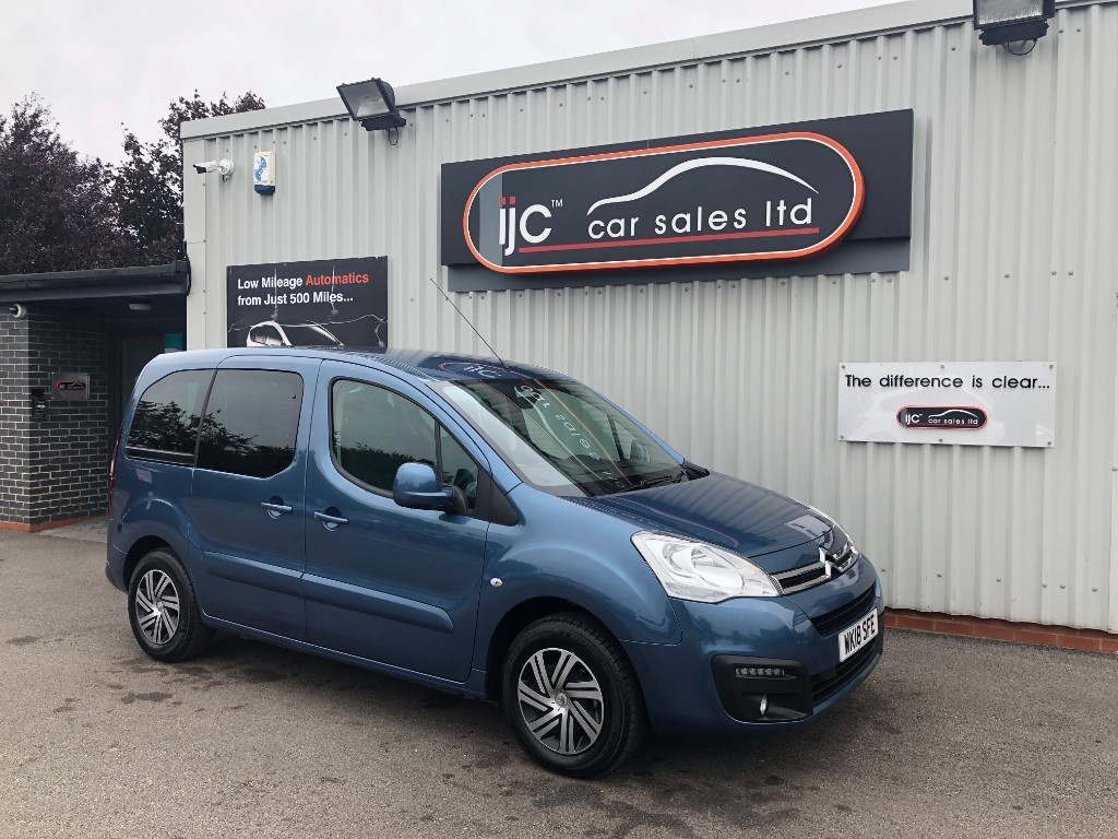 used Citroen Berlingo Multispace BLUEHDI FEEL ETG6 in louth-lincolnshire