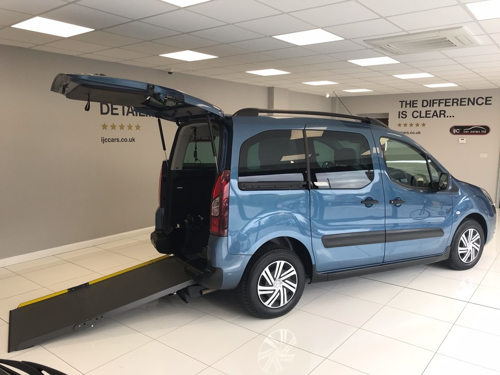used Citroen Berlingo Multispace 1.6 DIESEL AUTOMATIC WHEELCHAIR ADAPTED in louth-lincolnshire