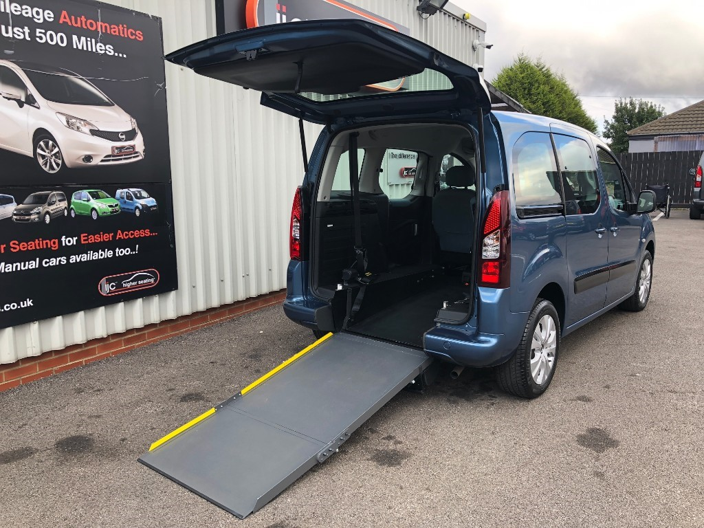 used Citroen Berlingo Multispace 1.6 HDI PLUS WHEELCHAIR ADAPTED in louth-lincolnshire