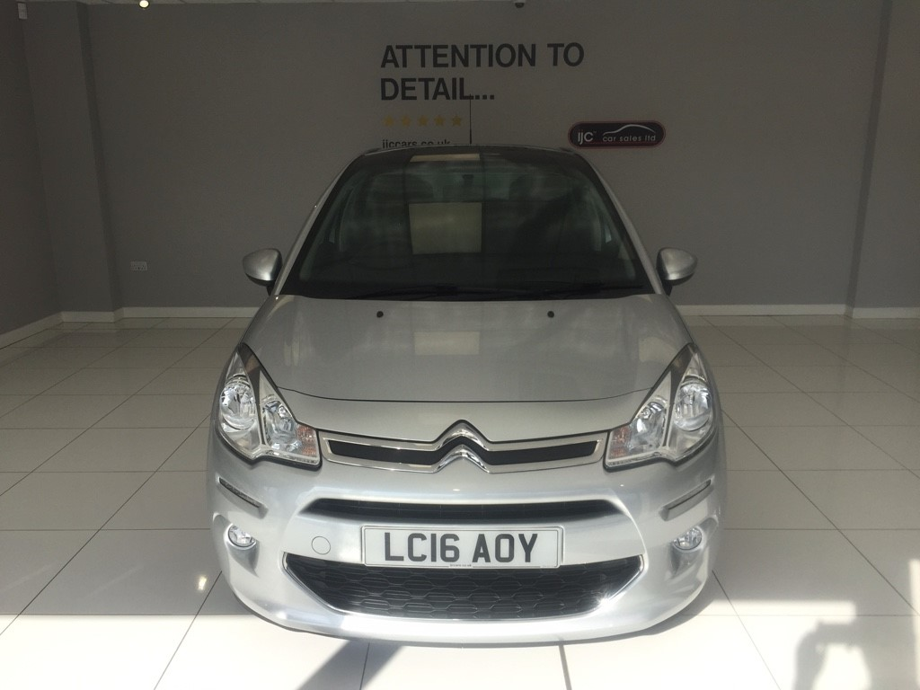 used Citroen C3 1.2 SEMI-AUTOMATIC PURETECH PLATINUM ETG S/S JUST 777 MILES!! in louth-lincolnshire