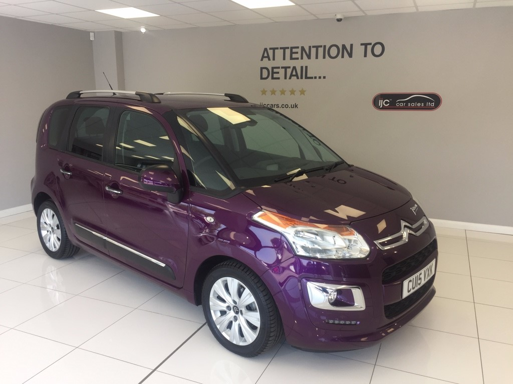 used Citroen C3 PICASSO 1.6 PETROL EXCLUSIVE AUTOMATIC in louth-lincolnshire