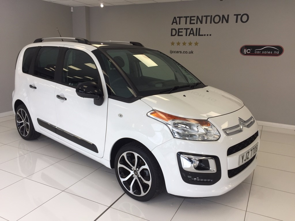 used Citroen C3 BLUEHDI PLATINUM PICASSO �20 road tax in louth-lincolnshire