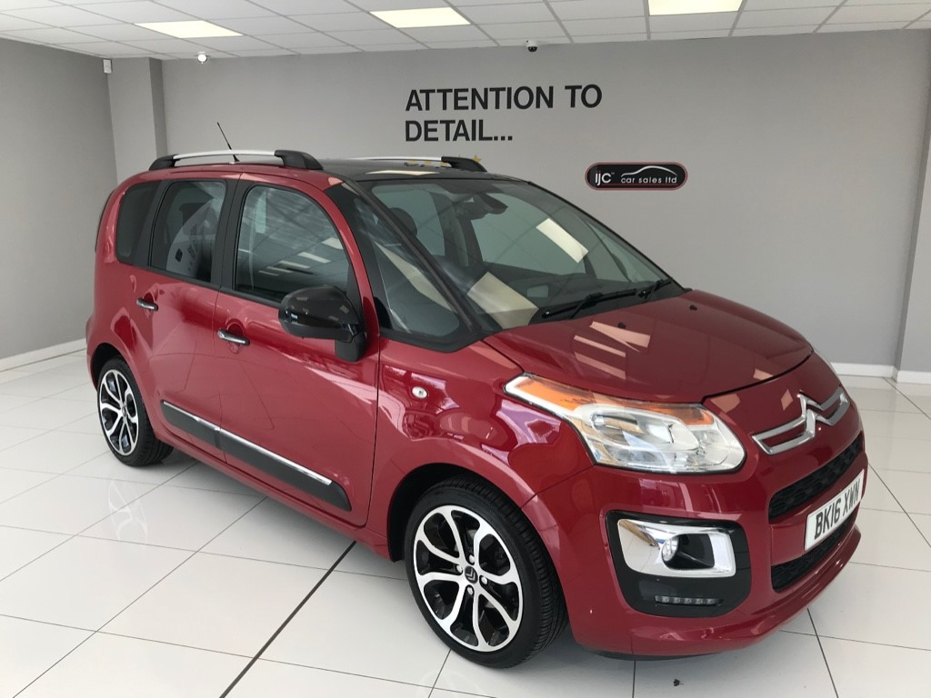 used Citroen C3 BLUEHDI PLATINUM PICASSO WITH JUST 38,406 MILES, AND HIGHER SEATING FOR EASY ACCESS in louth-lincolnshire