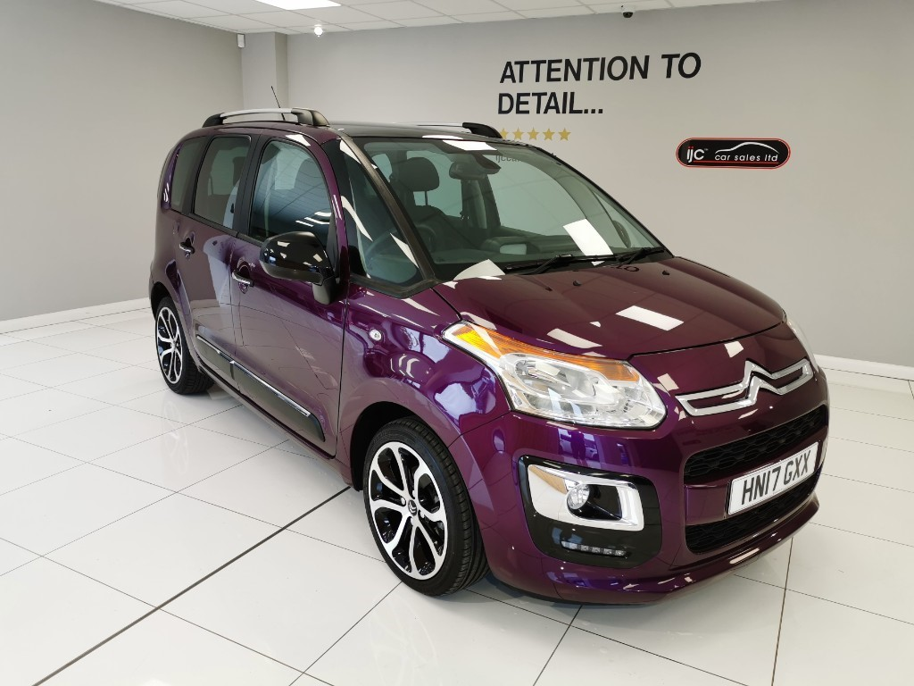used Citroen C3 BLUEHDI PLATINUM PICASSO JUST 11,514 MILES!! TOP SPECIFICATION PANORAMIC ROOF in louth-lincolnshire