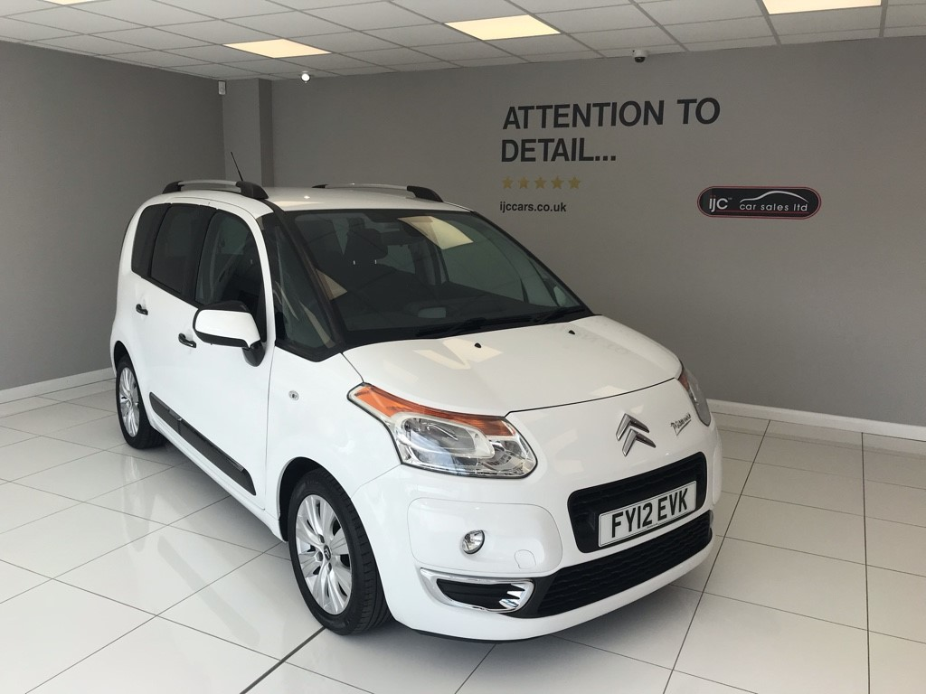 used Citroen C3 1.6 HDI EXCLUSIVE PICASSO in louth-lincolnshire
