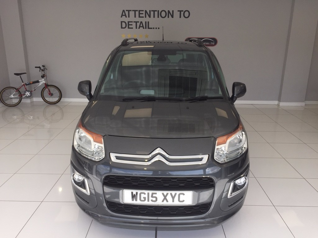 used Citroen C3 1.6 MANUAL HDI EXCLUSIVE PICASSO in louth-lincolnshire