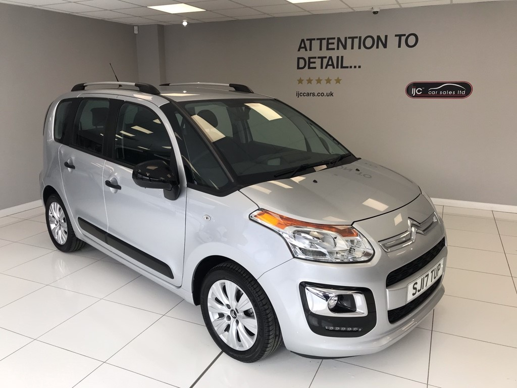 used Citroen C3 BLUEHDI EDITION PICASSO �20 TAX, UPTO 80 MPG. JUST 4,232 MILES AND HIGHER SEATING! in louth-lincolnshire