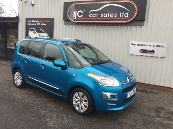 used Citroen C3 Picasso 2014 (14) 1.6 Petrol Automatic Exclusive in louth-lincolnshire