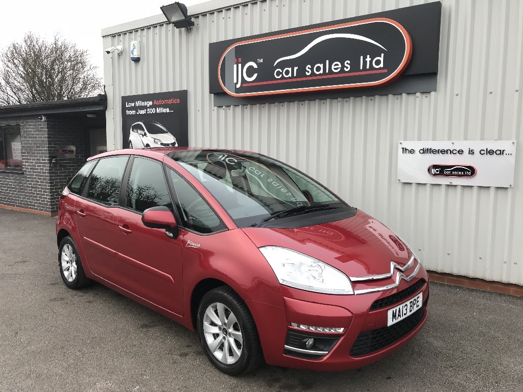 used Citroen C4 HDI EDITION PICASSO in louth-lincolnshire