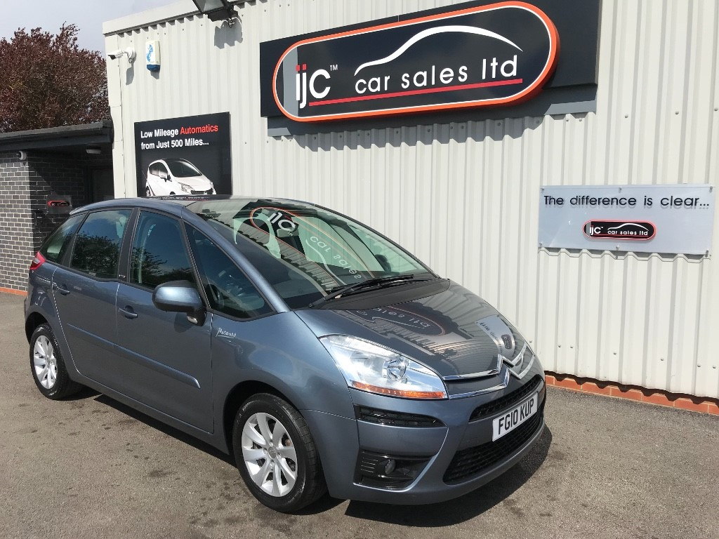 used Citroen C4 HDI VTR PLUS EGS PICASSO in louth-lincolnshire