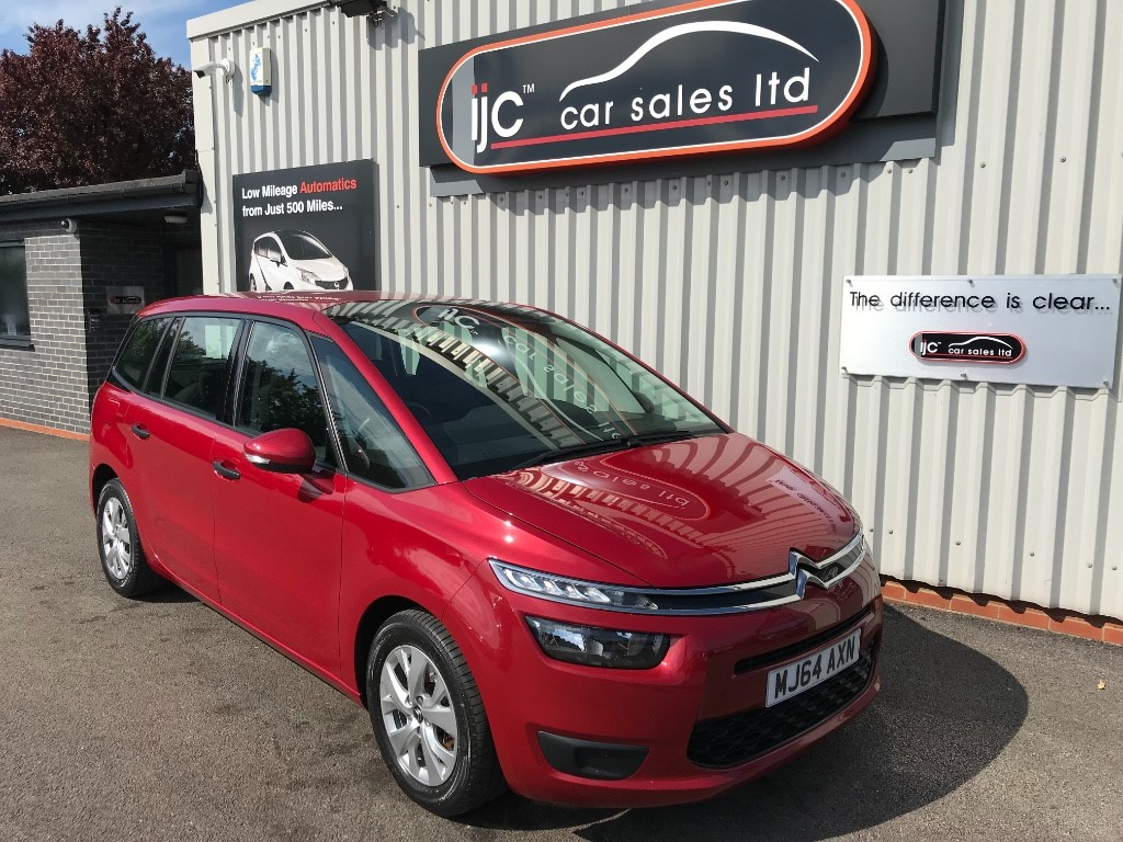 used Citroen C4 Picasso GRAND E-HDI AIRDREAM VTR ETG6 in louth-lincolnshire