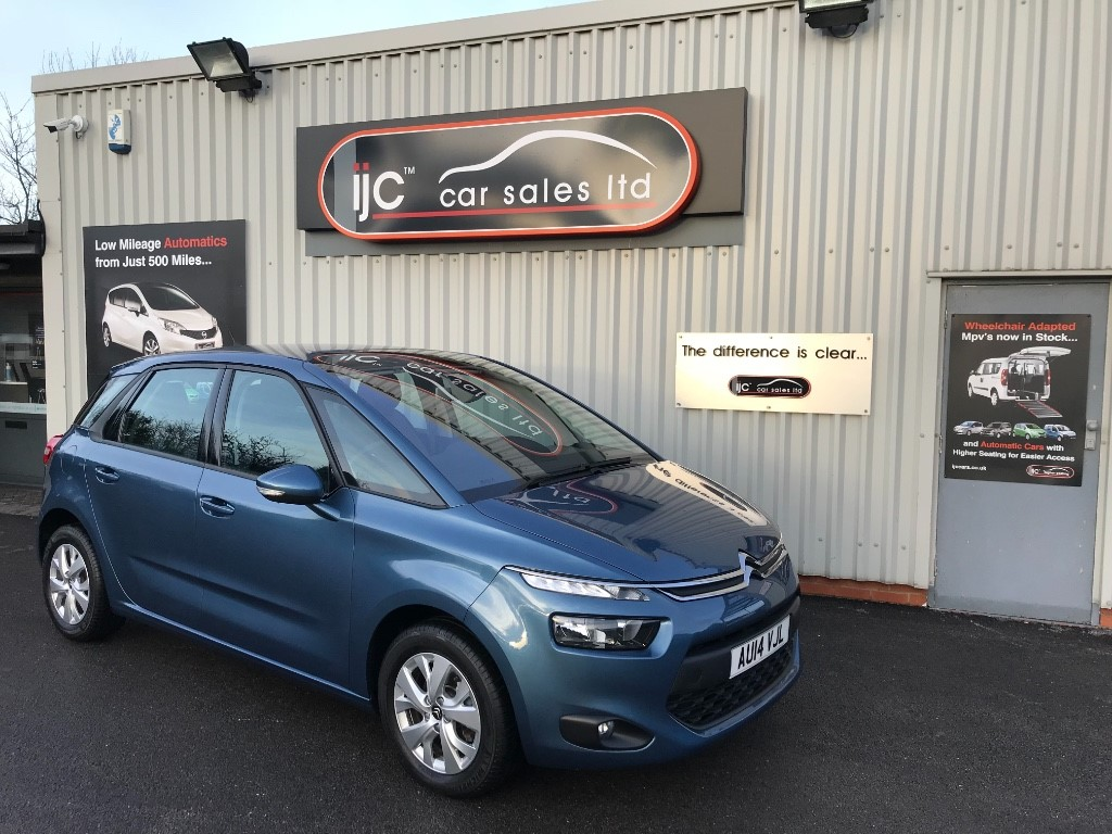 used Citroen C4 Picasso 2014 (14) 1.6 E-HDI AIRDREAM VTR+ in louth-lincolnshire