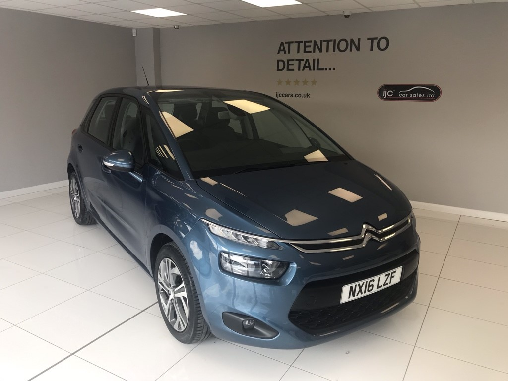 used Citroen C4 Picasso 1.6 BLUEHDI SELECTION JUST 9102 MILES!! in louth-lincolnshire