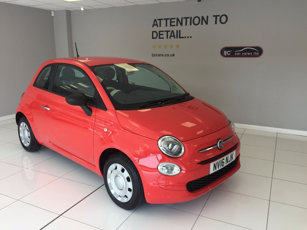 used Fiat 500 POP WITH JUST 2,988 MILES! �20 TAX in louth-lincolnshire