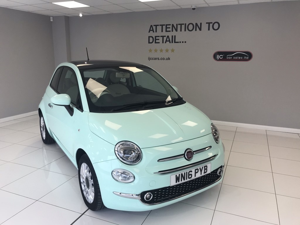 used Fiat 500 1.2 LOUNGE in louth-lincolnshire