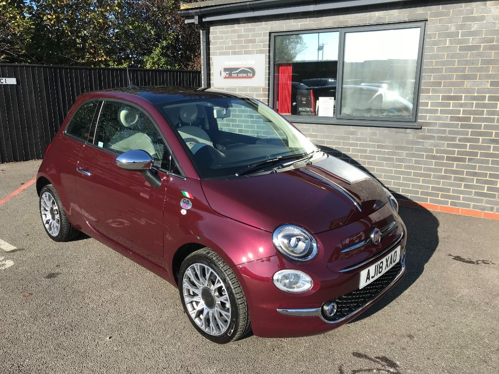 used Fiat 500 LOUNGE DUALOGIC in louth-lincolnshire