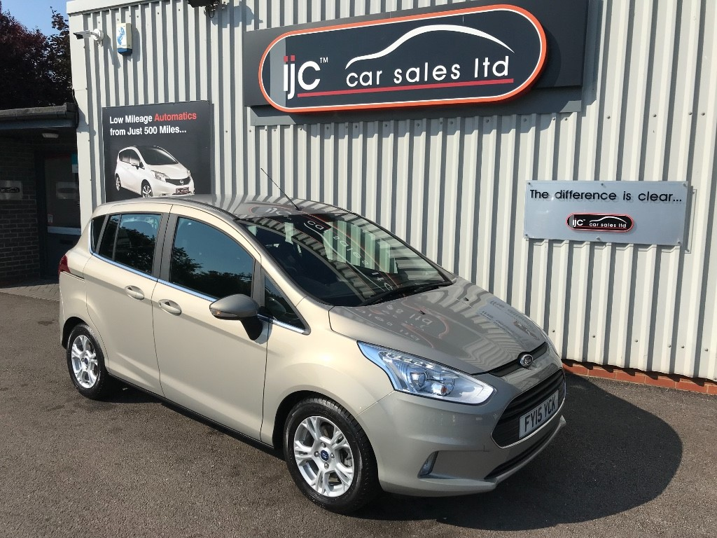 used Ford B-Max ZETEC in louth-lincolnshire