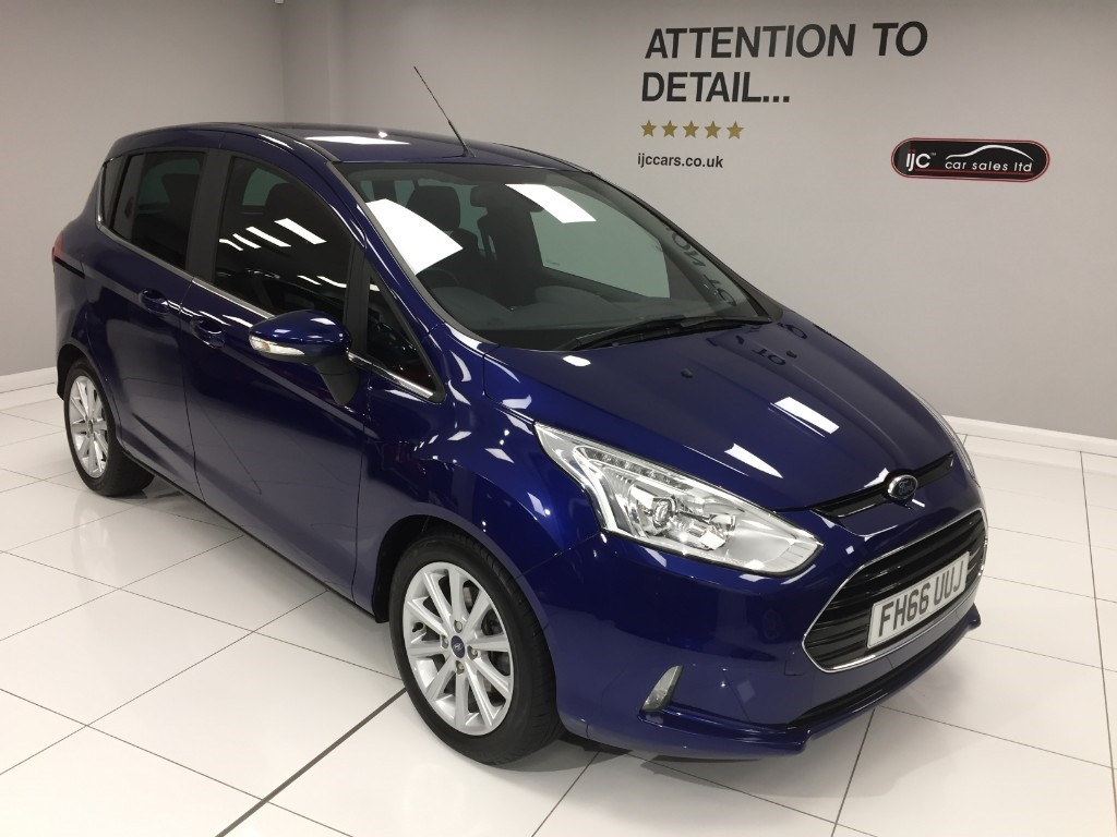 used Ford B-Max TITANIUM AUTOMATIC WITH JUST 4596 MILES!! HIGHER SEATING POSITION in louth-lincolnshire