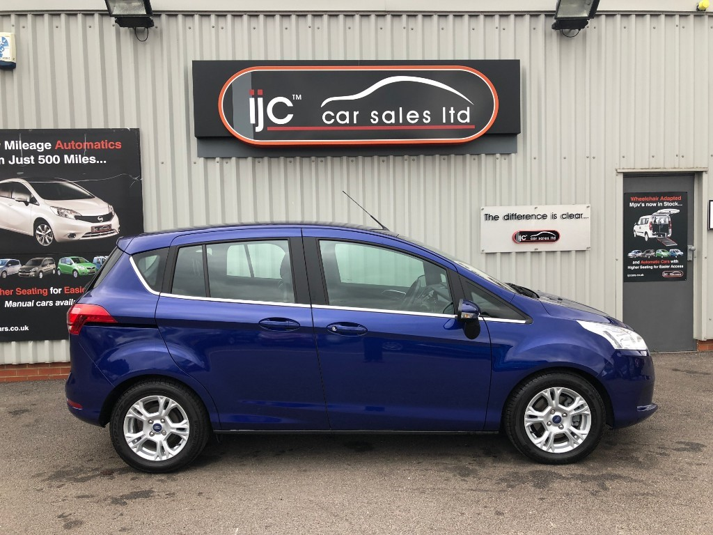 Ford B Max Zetec Tdci For Sale Louth Lincolnshire Ijc Car Sales Ltd