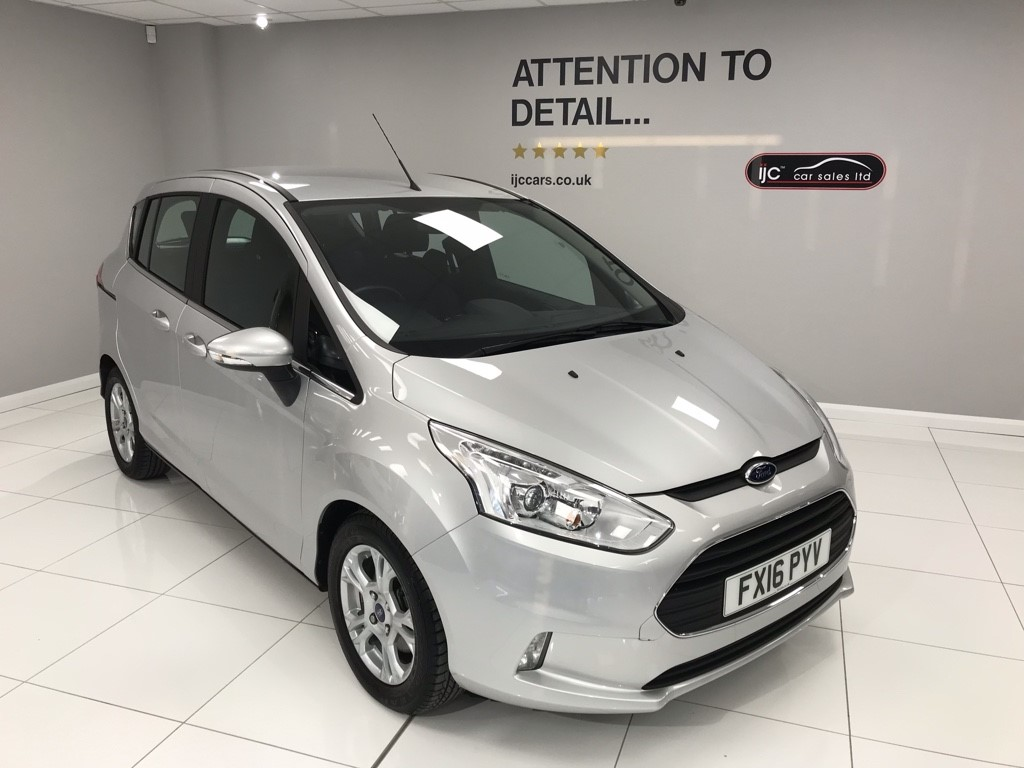 used Ford B-Max ZETEC 1.6 PETROL AUTOMATIC in louth-lincolnshire