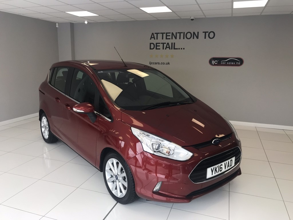 used Ford B-Max 1.6 PETROL TITANIUM AUTOMATIC in louth-lincolnshire