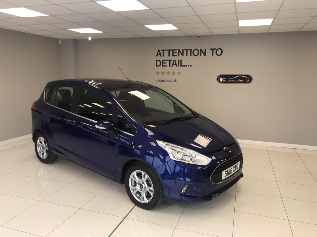 used Ford B-Max 1.6 PETROL AUTOMATIC ZETEC in louth-lincolnshire
