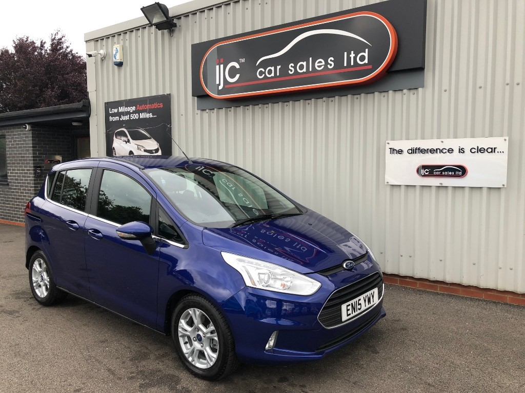 used Ford B-Max ZETEC TDCI in louth-lincolnshire