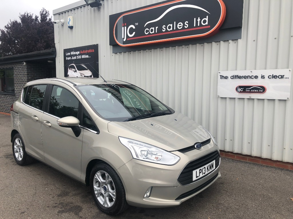 Ford B Max Zetec 16 Petrol Manual For Sale Louth Lincolnshire